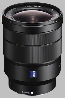 image of the Sony FE 16-35mm f/4 ZA OSS Zeiss Vario-Tessar T* SEL1635Z lens