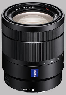 image of the Sony E 16-70mm f/4 Zeiss Vario-Tessar T* ZA OSS SEL1670Z lens