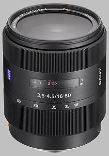 image of the Sony 16-80mm f/3.5-4.5 DT Carl Zeiss Vario-Sonnar T* SAL-1680Z lens