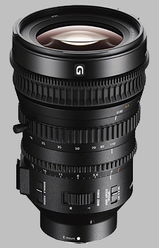 image of the Sony E 18-110mm f/4 G PZ OSS SELP18110G lens