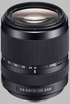 image of the Sony 18-135mm f/3.5-5.6 DT SAM SAL18135 lens