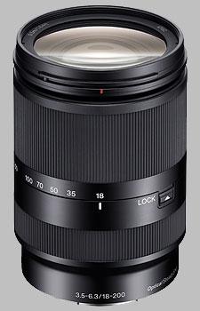 image of the Sony E 18-200mm f/3.5-6.3 OSS LE SEL18200LE lens