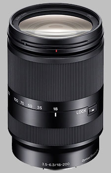 image of the Sony E 18-200mm f/3.5-6.3 OSS LE SEL18200LE lens
