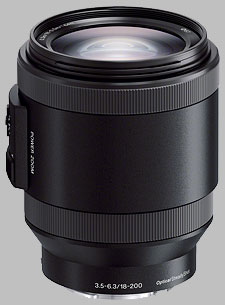 image of the Sony E 18-200mm f/3.5-6.3 OSS PZ SELP18200 lens