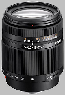 image of the Sony 18-250mm f/3.5-6.3 DT SAL-18250 lens