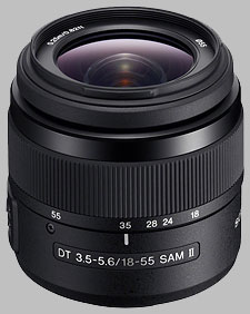 image of the Sony 18-55mm f/3.5-5.6 DT SAM II SAL18552 lens