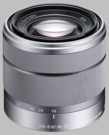 image of the Sony E 18-55mm f/3.5-5.6 OSS SEL1855 lens