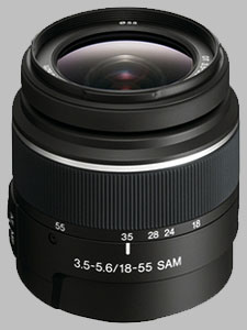 image of the Sony 18-55mm f/3.5-5.6 DT SAM SAL-1855 lens