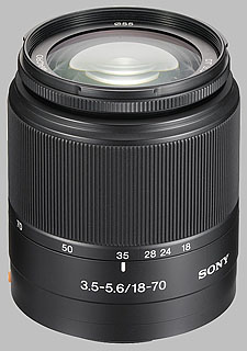 image of the Sony 18-70mm f/3.5-5.6 DT SAL-1870 lens