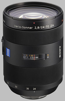 image of the Sony 24-70mm f/2.8 ZA Carl Zeiss Vario-Sonnar T* SAL-2470Z lens