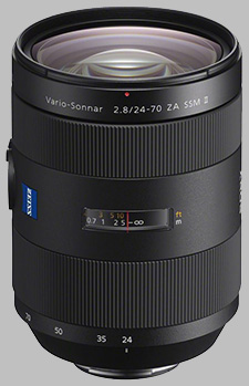 image of the Sony 24-70mm f/2.8 ZA SSM II Zeiss Vario-Sonnar T* SAL2470Z2 lens