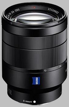 image of the Sony FE 24-70mm f/4 ZA OSS Zeiss Vario-Tessar T* SEL2470Z lens