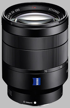 image of the Sony FE 24-70mm f/4 ZA OSS Zeiss Vario-Tessar T* SEL2470Z lens