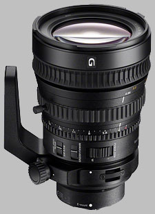 image of the Sony FE 28-135mm f/4 G OSS PZ SELP28135G lens