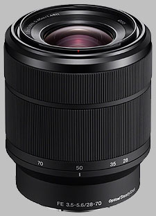 image of the Sony FE 28-70mm f/3.5-5.6 OSS SEL2870 lens