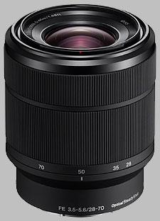 image of the Sony FE 28-70mm f/3.5-5.6 OSS SEL2870 lens