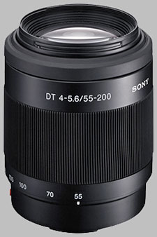 image of the Sony 55-200mm f/4-5.6 DT SAL-55200 lens