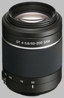 image of the Sony 55-200mm f/4-5.6 DT SAM SAL-552002 lens