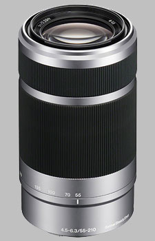 image of the Sony E 55-210mm f/4.5-6.3 OSS SEL55210 lens