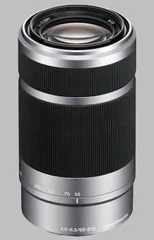 image of the Sony E 55-210mm f/4.5-6.3 OSS SEL55210 lens