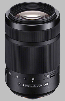 image of the Sony 55-300mm f/4.5-5.6 DT SAM SAL-55300 lens