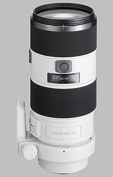 image of the Sony 70-200mm f/2.8 G SAL-70200G lens
