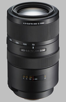 image of the Sony 70-300mm f/4.5-5.6G SSM SAL-70300G lens