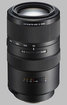 image of the Sony 70-300mm f/4.5-5.6G SSM SAL-70300G lens