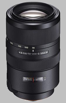 image of the Sony 70-300mm f/4.5-5.6 G SSM II SAL70300G2 lens