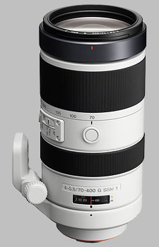 image of the Sony 70-400mm f/4-5.6G SSM II SAL70400G2 lens