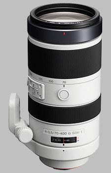 image of the Sony 70-400mm f/4-5.6G SSM II SAL70400G2 lens