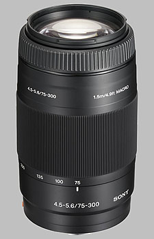 image of the Sony 75-300mm f/4.5-5.6 SAL-75300 lens