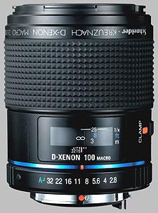 image of the Samsung 100mm f/2.8 Macro Schneider D-XENON lens