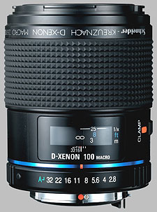 image of the Samsung 100mm f/2.8 Macro Schneider D-XENON lens