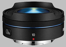 image of the Samsung 10mm f/3.5 Fisheye NX i-Function lens