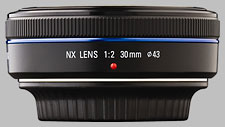 image of the Samsung 30mm f/2 NX lens