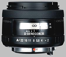 image of Samsung 35mm f/2 AL Schneider D-XENOGON