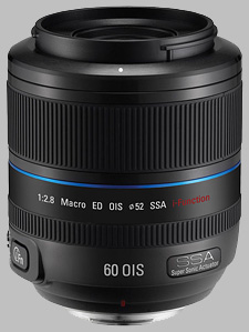 image of the Samsung 60mm f/2.8 Macro ED OIS SSA NX lens