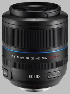image of the Samsung 60mm f/2.8 Macro ED OIS SSA NX lens