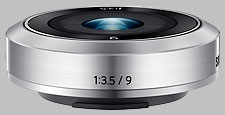 image of the Samsung 9mm f/3.5 ED NX-M lens