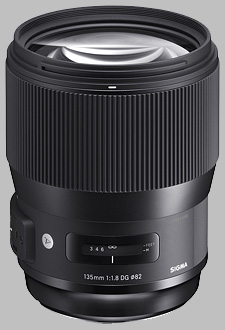 image of the Sigma 135mm f/1.8 DG HSM Art lens