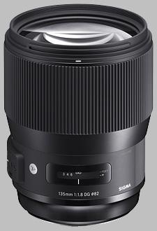 image of Sigma 135mm f/1.8 DG HSM Art