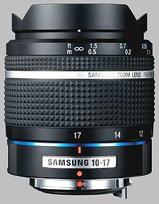 image of the Samsung 10-17mm f/3.5-4.5 Fish-Eye Schneider D-XENON lens