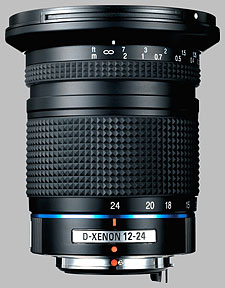 image of the Samsung 12-24mm f/4 ED AL Schneider D-XENON lens