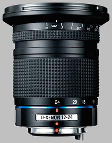 image of the Samsung 12-24mm f/4 ED AL Schneider D-XENON lens