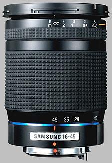 image of the Samsung 16-45mm f/4 ED AL Schneider D-XENON lens