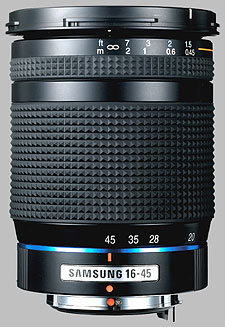 image of the Samsung 16-45mm f/4 ED AL Schneider D-XENON lens