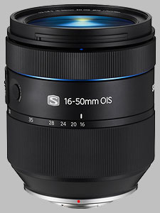 image of the Samsung 16-50mm f/2-2.8 S ED OIS NX lens
