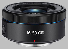 image of the Samsung 16-50mm f/3.5-5.6 Power Zoom ED OIS NX lens