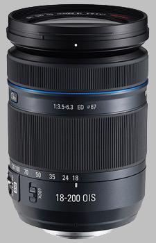 image of Samsung 18-200mm f/3.5-6.3 ED OIS NX